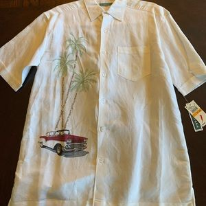 NWT Cubavera Hawaiian shirt